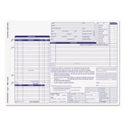 TOPS™ Auto Repair Four-Part Order Form, 11 x 8 1/2, 50/Pack (3869)