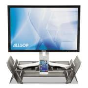 Allsop®, DeskTek Monitor Stand, 20 3/10 x 11 3/5 x 5 2/5, Gray, Each (30645)