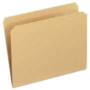 Pendaflex® Dark Kraft File Folders with Double-Ply Top, Letter, Brown, 100/Box (RK152)