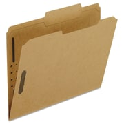 Pendaflex® Kraft Folders with Fasteners, Letter, Brown, 50/Box (FK213)