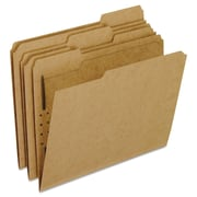 Pendaflex® Kraft Folders with Fasteners, Letter, Brown, 50/Box (FK211)