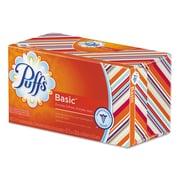 Puffs® White Facial Tissue, 2-Ply, 180 Sheets, 24/Carton (80235260)