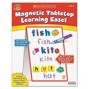 Scholastic Magnetic Tabletop Learning Easel, Magnetic Tabletop Easel, Ages 4 to 7, Each (989357)