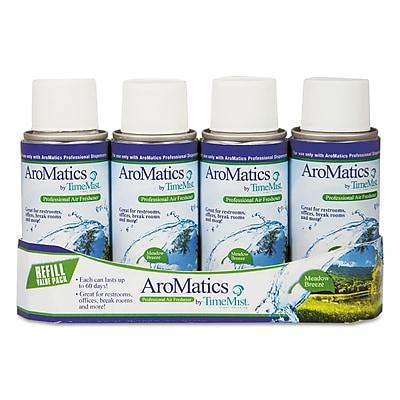 TimeMist® AroMatics Refill, 3 oz, Meadow Breeze, 4/Pack (1047356)