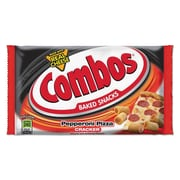 Combos® Baked Snacks, Pepperoni Pizza Cracker, Snack, 6.3 oz (42008)