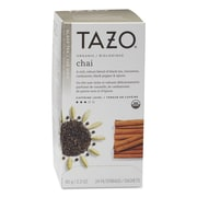 Tazo® Tea Bags, Organic Chai, 24/Box (149904)