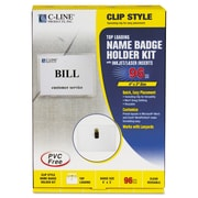C-Line® Name Badge Kits, 96/Box (95596)