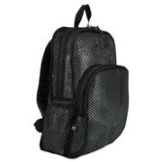 Eastsport® Mesh Backpack, Black, Polyester (113960BJBLK)