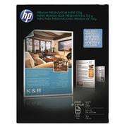 HP Premium Inkjet Matte Presentation Paper, 8 1/2 x 11, White, 100/Pack (DOZ55A)