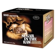 Sugar in the Raw Sugar Packets, 0.18 oz, Original, 500/Carton (827749)
