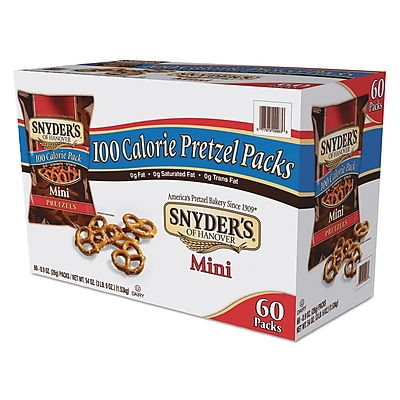 Snyder's® Mini Pretzels, Original, Pretzel, 0.9 oz (827582)