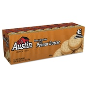 Austin® Sandwich Crackers, Toast & Peanut Butter, Crackers, 1.38 oz (827548)