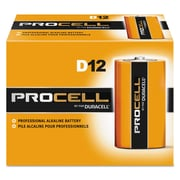 Duracell® Procell® Alkaline Batteries, D, 12/Box (PC1300)