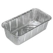 "Handi-Foil of America® Aluminum Roasting/Baking Containers, 8"" x 3 7/8"" x 2 19/32"", 200/Carton (HFA 31630)"