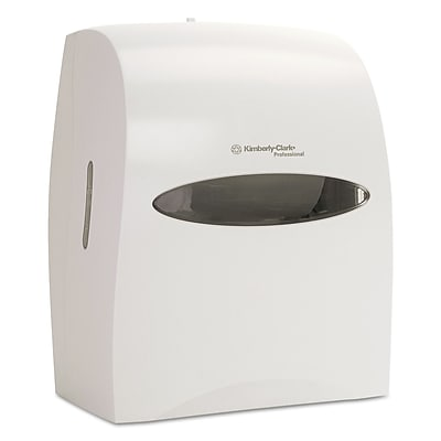 Kimberly-Clark Professional* Windows* Touchless Electronic Roll Towel Dispenser, White, Each (09993)