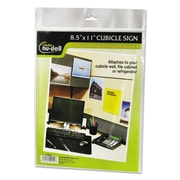 NuDell™ Clear Plastic Sign Holders, Plastic, Each (37085Z)