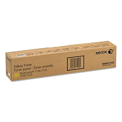 Xerox® (XER006R01458) Yellow Toner, 15000 Page-Yield