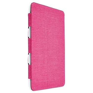 Case Logic® SnapView Tablet Case, Polycarbonate, Pink (FSI1082PHL)