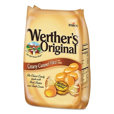 Werther's® Original® Hard Candies, 30 oz, Caramel, Each (39870)