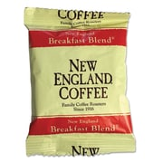 New England Coffee Coffee Portion Packs, Breakfast Blend, 2.5 oz, 24/Carton (026260)