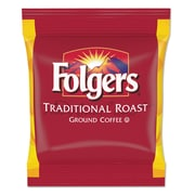 Folgers® Filter Packs, Regular Traditional Roast, 2 oz, 128/Carton (2550063015)