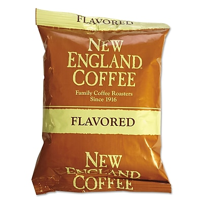 New England Coffee Coffee Portion Packs, Hazelnut Creme, 2.5 oz, 24/Carton (026530)