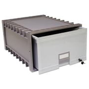 Storex Archive Storage Drawers, Legal, Gray, Each (61401U01C)