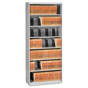 Tennsco Fixed Shelf Lateral File, 5 Drawer(s)5-Shelf, Light Gray, Legal; Letter (FS370LGY)