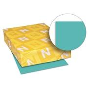 Neenah Paper Exact® Brights Paper, 8 1/2 x 11, Bright Aqua, 500/Ream (26811)