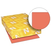 Exact Brights Paper, 8 1/2 x 11, Bright Red, 20 Lb., 500 Sheets/ream