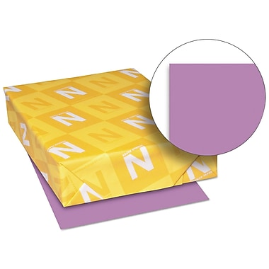 Exact Brights Paper, 8 1/2 x 11, Bright Purple, 20 Lb., 500 Sheets/ream