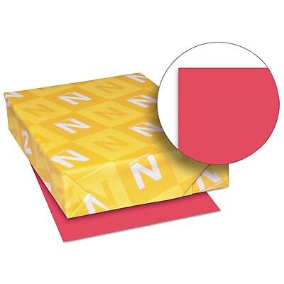Exact Brights Paper, 8 1/2 x 11, Bright Magenta, 50 Lb., 500 Sheets/ream
