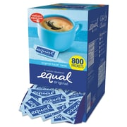 Equal® Zero Calorie Sweetener, 0.035 oz, 800/Carton (843126)