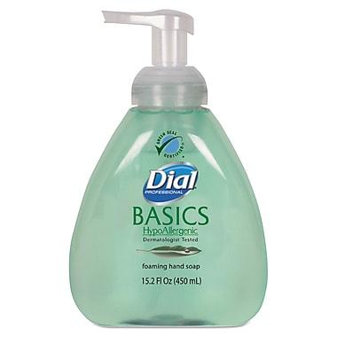 Dial Professional Basics Foaming Hand Soap, Honeysuckle, 15.2 oz, Each (98609EA)