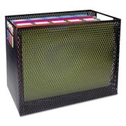 Artistic®, Urban Collection Punched Metal Desktop File, 13 x 5 3/4 x 10 3/4, Black, Each (ART20010)
