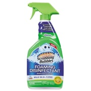 Scrubbing Bubbles® Foaming Disinfectant Bathroom Cleaner, 32 oz Spray Bottle, Fresh Citrus (CB707551)