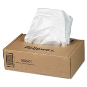 "Fellowes® AutoMax™ Waste Bags, 16 gal - 20 gal, 21"" x , 50/Carton (3608401)"