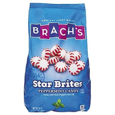 Brach's® Star Brites® Peppermint Candy, 58 oz, Peppermint, 1/Carton (827132)