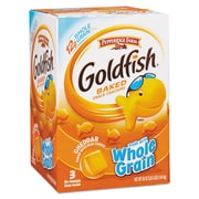 Pepperidge Farm® Goldfish® Crackers with Whole Grain, Baked Cheddar, Crackers, 19 oz (787564)