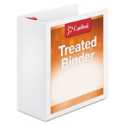 Cardinal® Treated Binder ClearVue™ Locking Slant-D® Ring Binder, 11 x 8 1/2, View Binders, Each (32140)