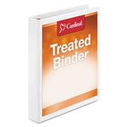 Cardinal® Treated Binder ClearVue™ Locking Slant-D® Ring Binder, 11 x 8 1/2, View Binders, Each (32100)