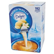 International Delight® Flavored Liquid Non-Dairy Coffee Creamer, .44 oz, French Vanilla, 192/Carton (827981)