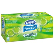Nestle Waters® Pure Life® Exotics™ Sparkling Water, Key Lime, 12 oz Can, 24/Carton (12252793)