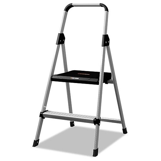 Wondrous Louisville Black Decker Aluminum Step Stool 8 0 Ft Folding Step Stool Bxl226002 Uwap Interior Chair Design Uwaporg