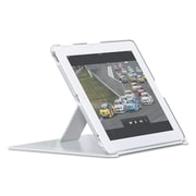 Leitz® iPad® Cover with Stand, Plastic, iPad® 2, 3rd Gen, 4th Gen, White (632201)