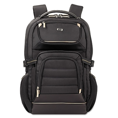 SOLO® Pro Laptop Backpack, Polyester, 12 1/2
