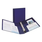 Avery® Heavy Duty Non-View Binder with Locking One Touch EZD™ Rings, 11 x 8 1/2, Non-View, Each (79825)