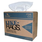 Cascade Like-Rags Spunlace Towels, 1-Ply, Dry Wipes, White, 150/Roll, 900/Carton (37246)