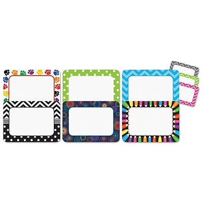 Teacher Created Resources Nametag Set, Assorted, Assorted, 3 1/2