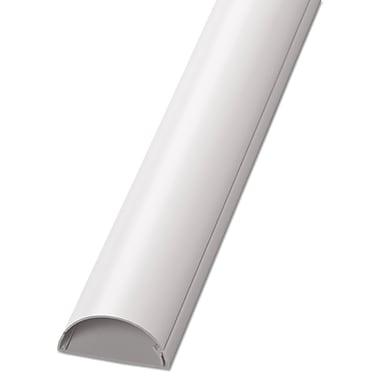 D-Line® Decorative Desk Cord Cover, Cord Concealer, 60\
